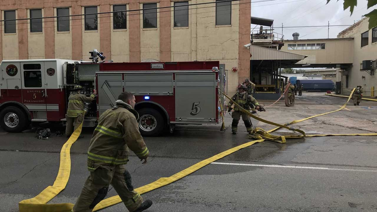 OKCFD Responds To Commercial Fire