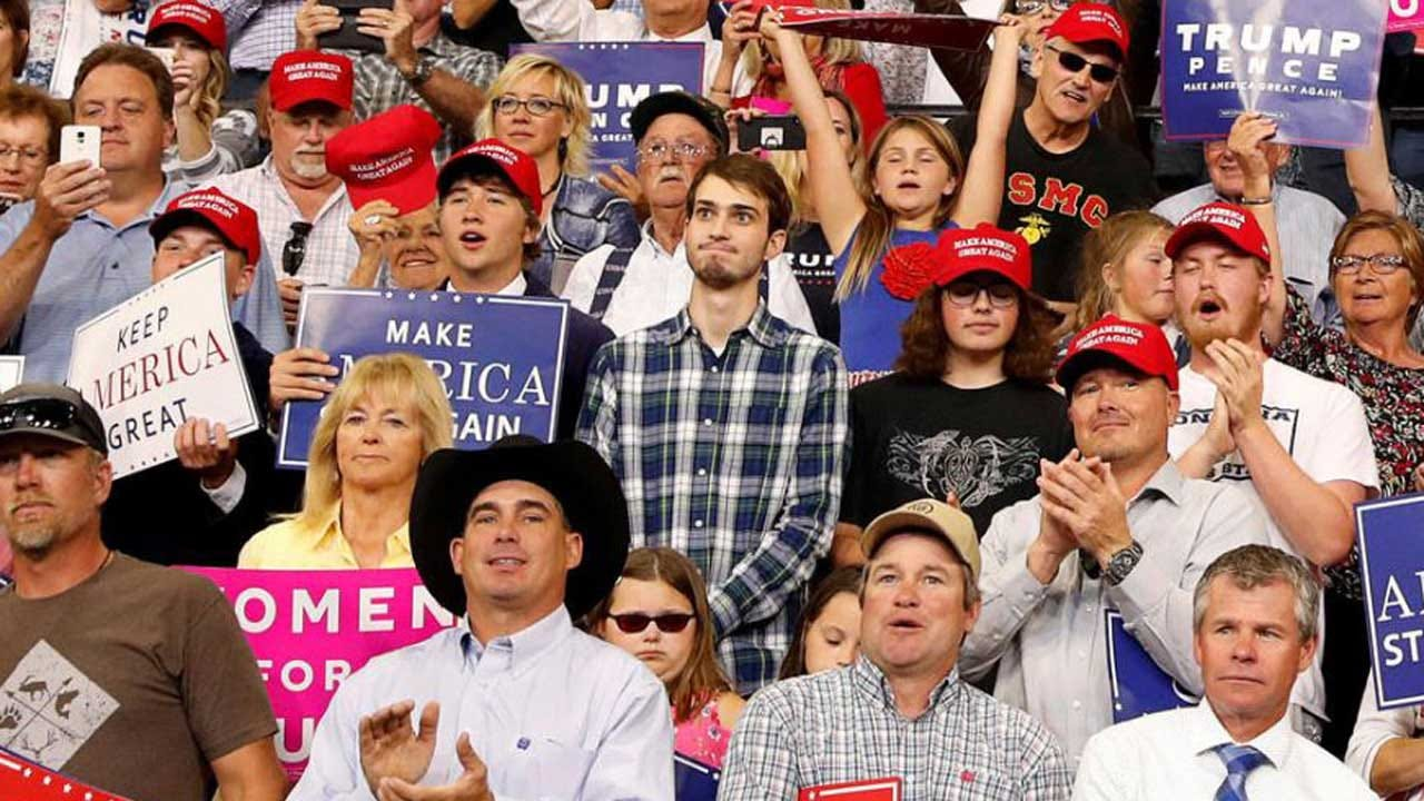Montana Teen Removed From Trump's Rally Goes Viral As #PlaidShirtGuy