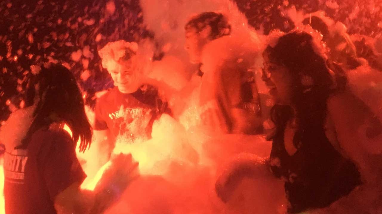 [UNFILTERED]: OU's Union Planning Board Celebrates 11th Annual Foam Party