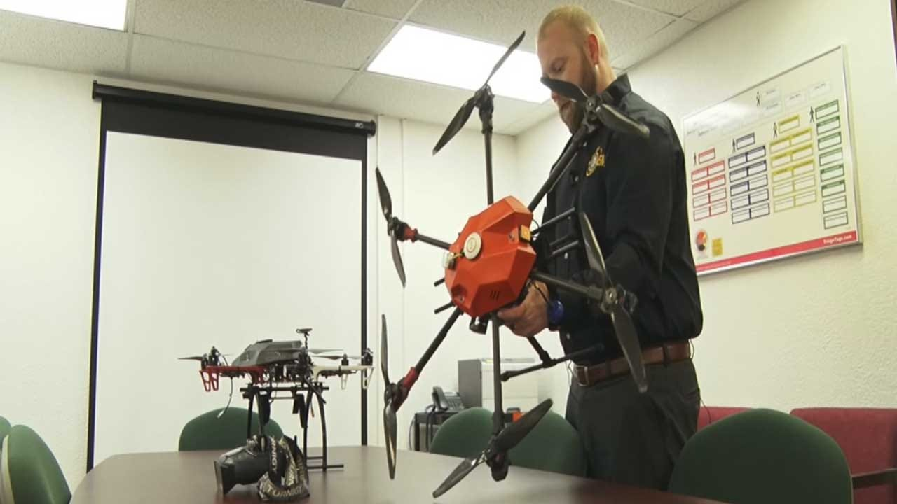 Drones, Thermal Imaging Becoming Popular In Fighting Oklahoma Wildfires