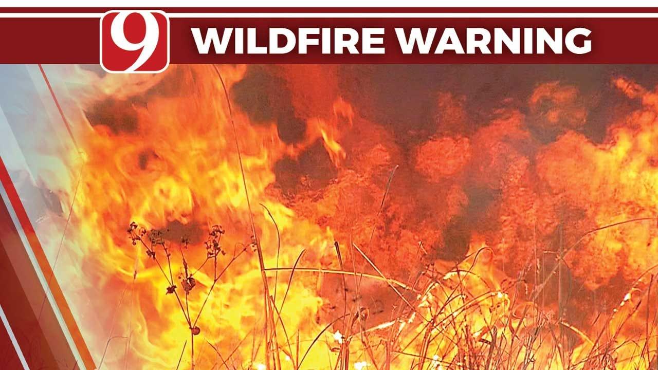 Fire Crews Get Woodward Wildfire Under Control