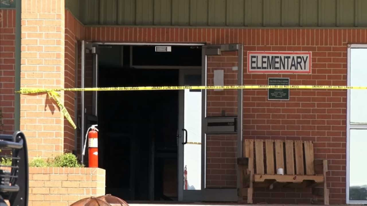 Strother Elementary School Fire Intentionally Set, Suspect Sought