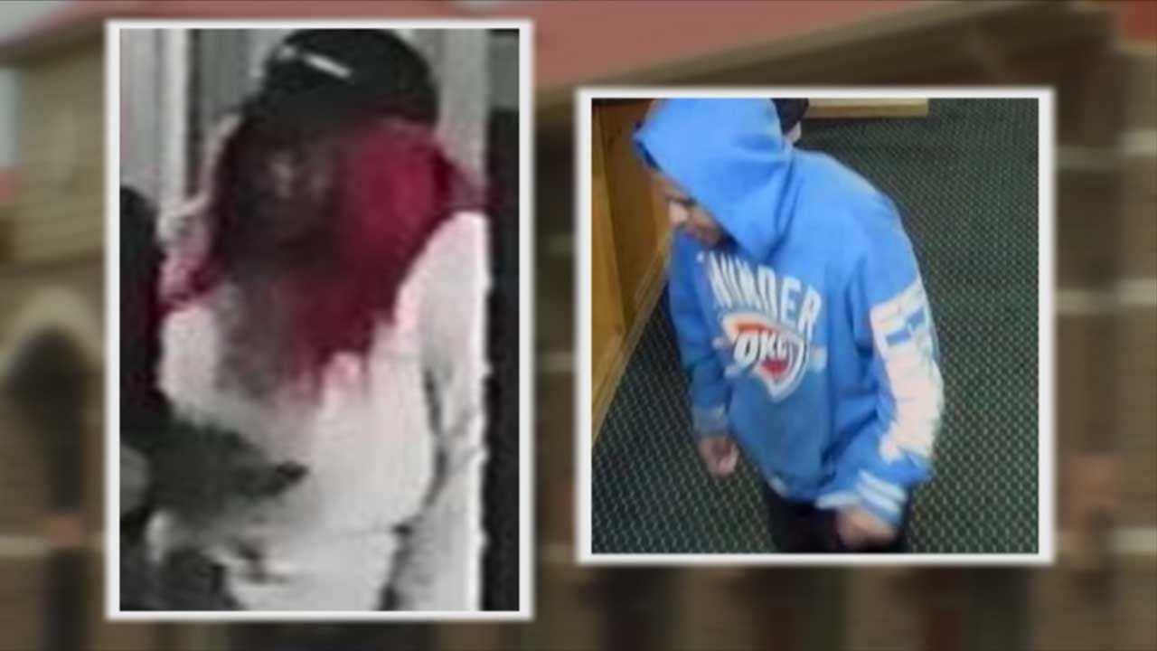 3 Suspects Wanted In Connection With Hotel Robbery In SW OKC