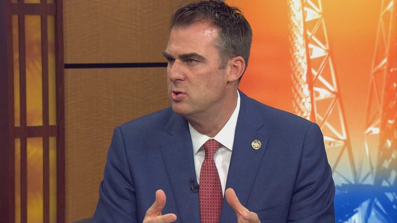 Governor Stitt On His First 100 Days In Office