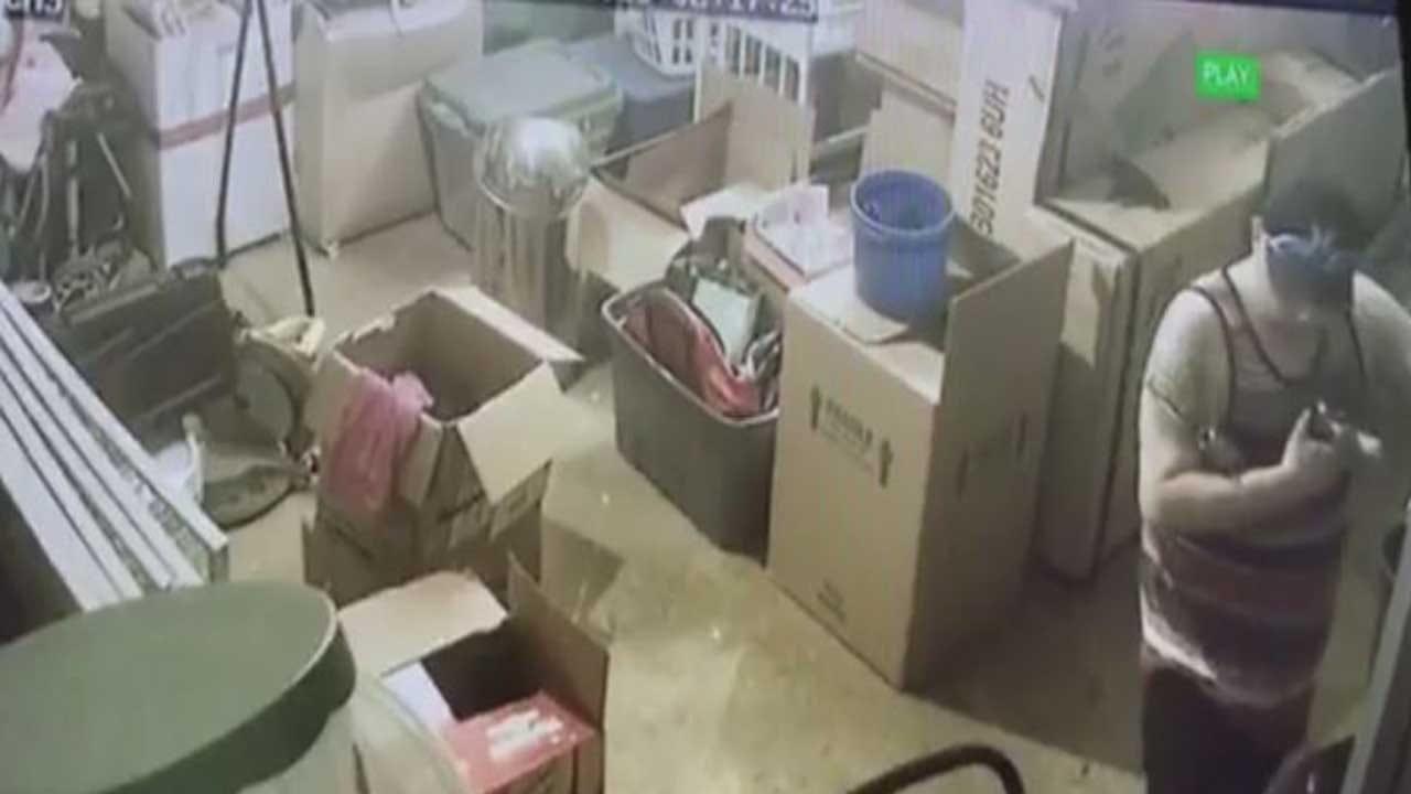 Suspect Caught On Camera Burglarizing Oklahoma City Properties