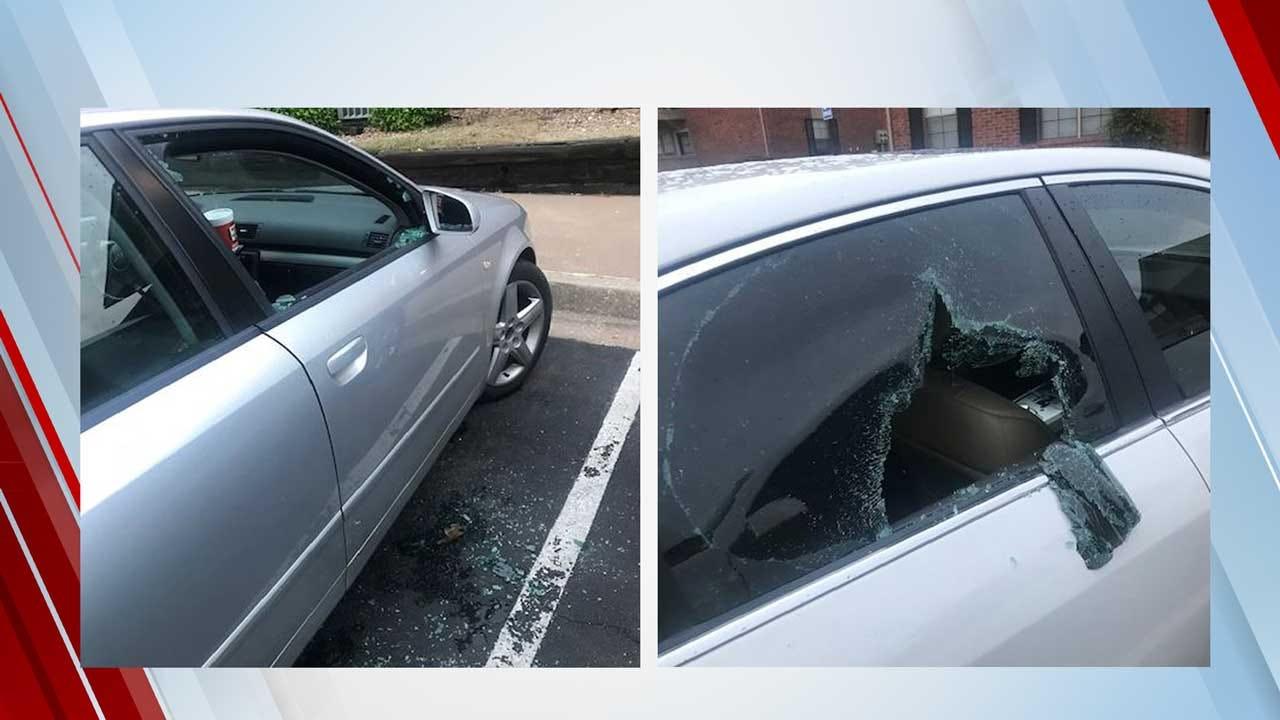 Edmond Police Investigating After 19 Smash And Grab Car Burglaries