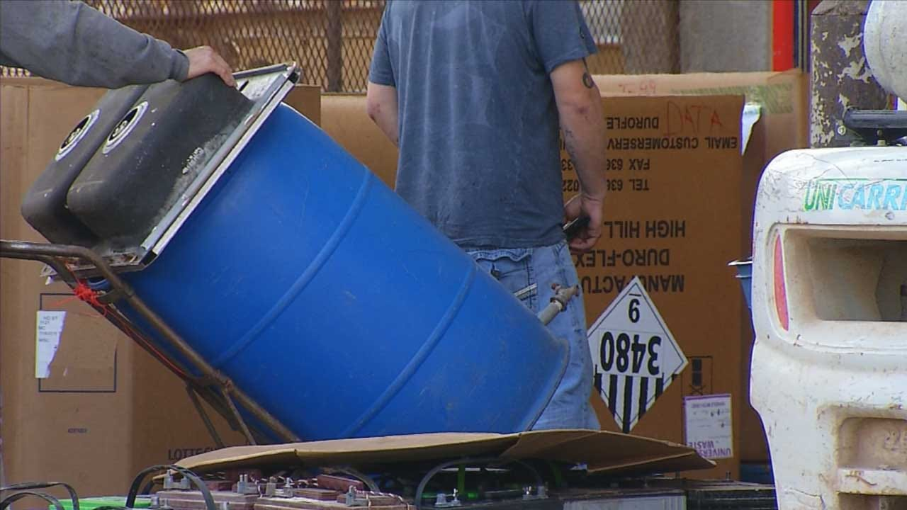 OKC Metal Scrap Dealers Cited For Illegal Practices After Sting Operation