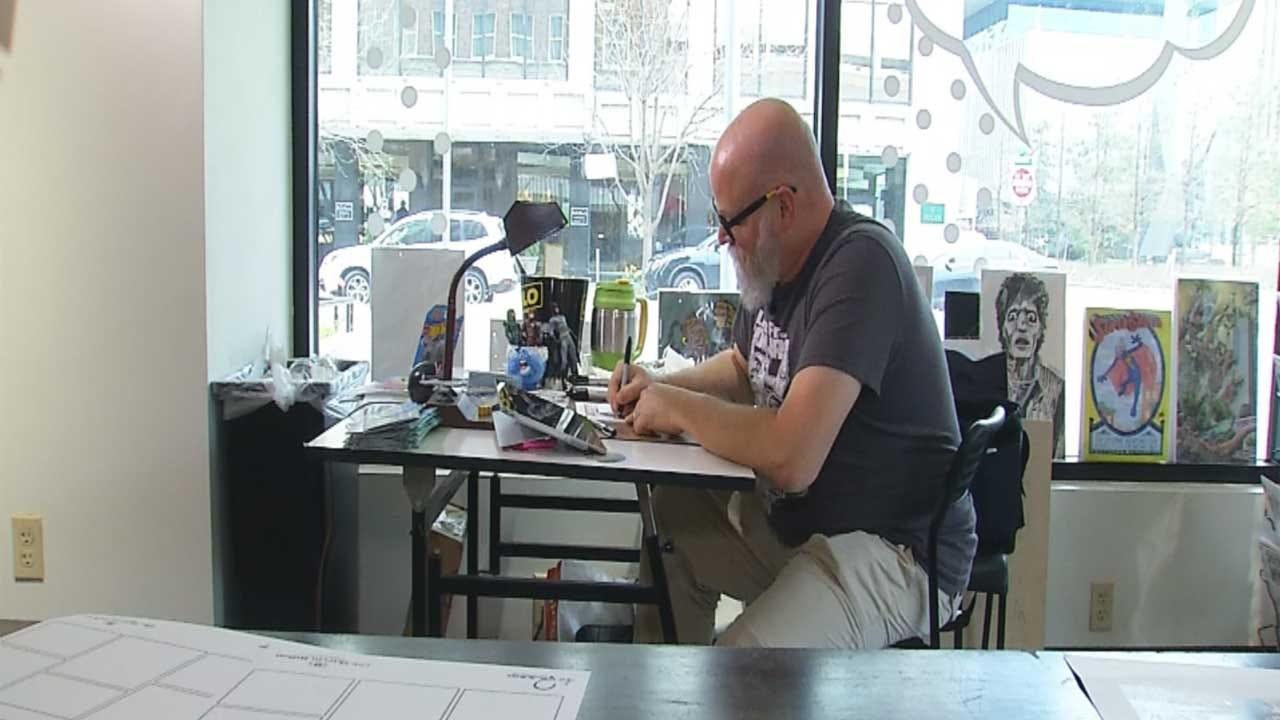 Red Dirt Diaries: Comic Book Artist Making Asperger's Patient A Hero