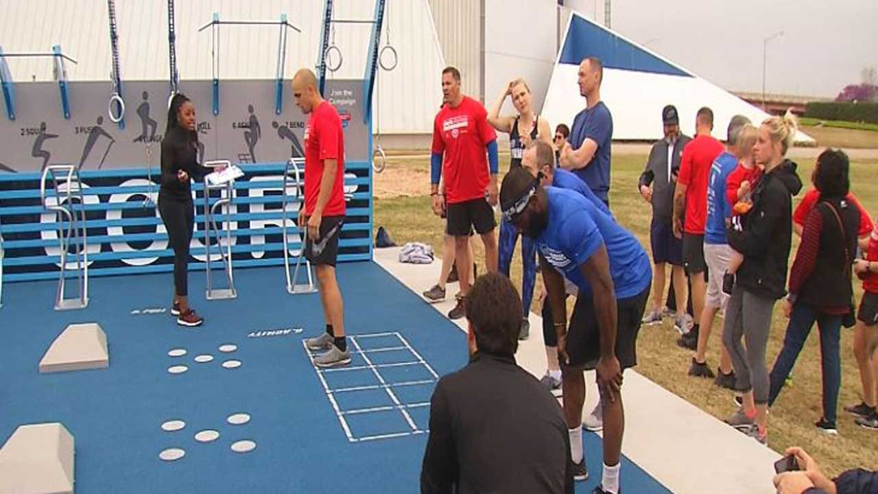 National Fitness Campaign Courts Now At Oklahoma City Parks