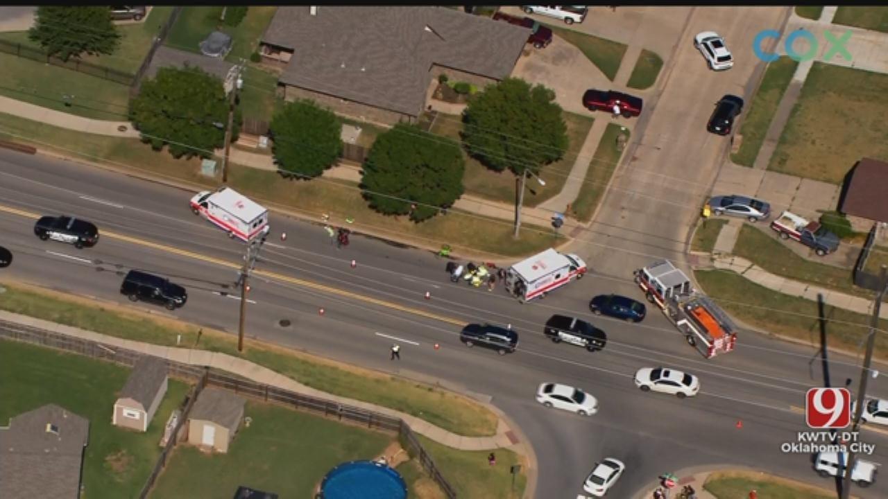 Auto-Pedestrian Crash Reported In Moore