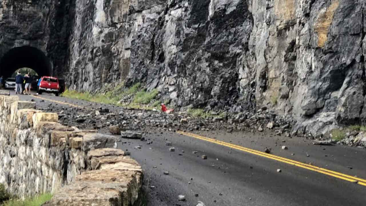 Girl Killed When Rockslide Hits Family's Car At Glacier National Park