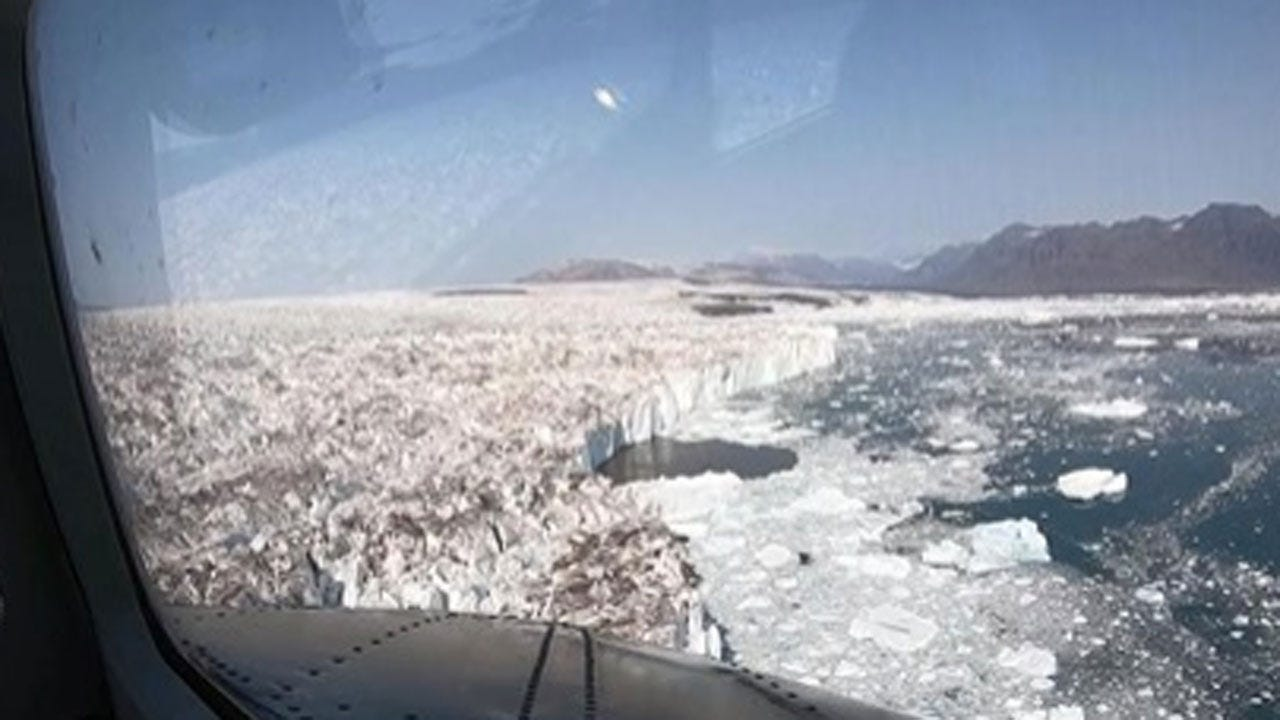 NASA Program 'OMG' Trying To Find Out How Fast Greenland's Ice Is Melting
