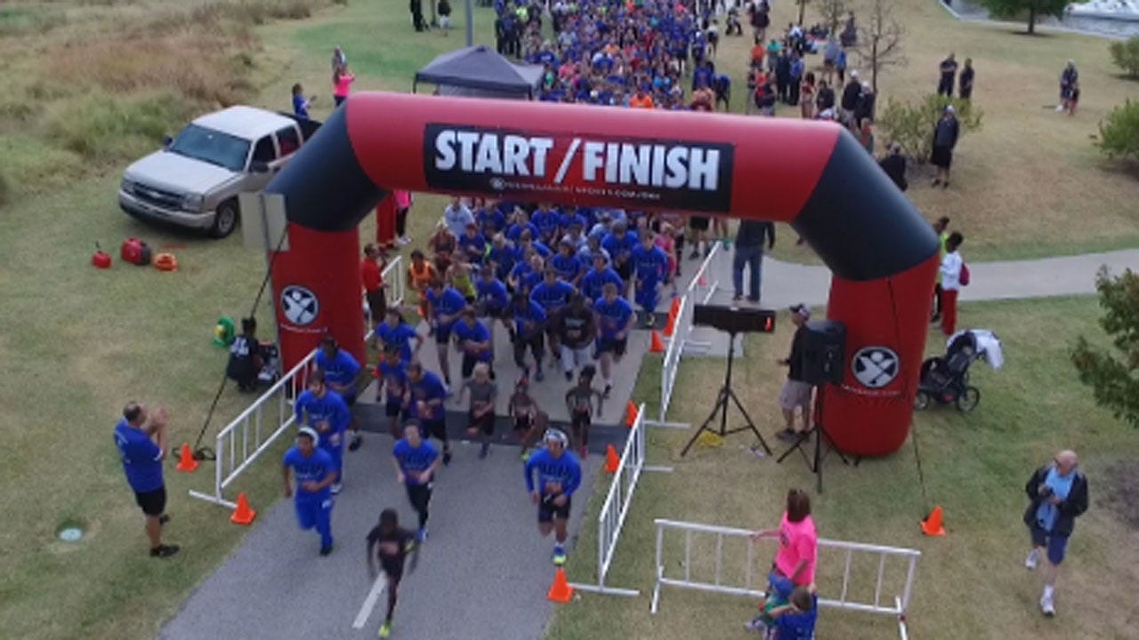 OKC Firefighters Prepare For Project Life 5K