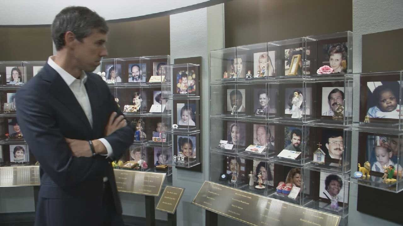 Presidential Candidate Beto O'Rourke Praises Oklahoma's Resilience Since 95' Bombing During OKC Visit