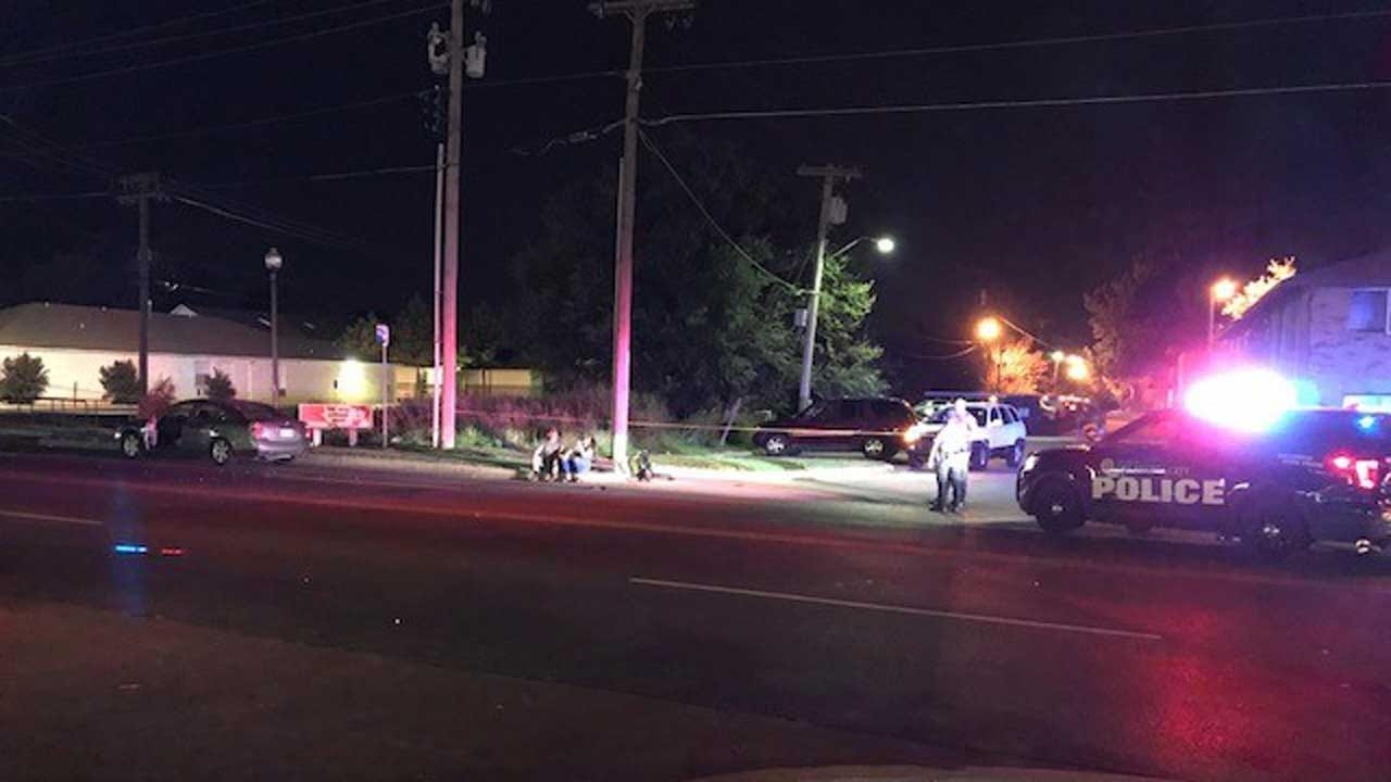 Woman With Walker Struck By Vehicle In NW OKC