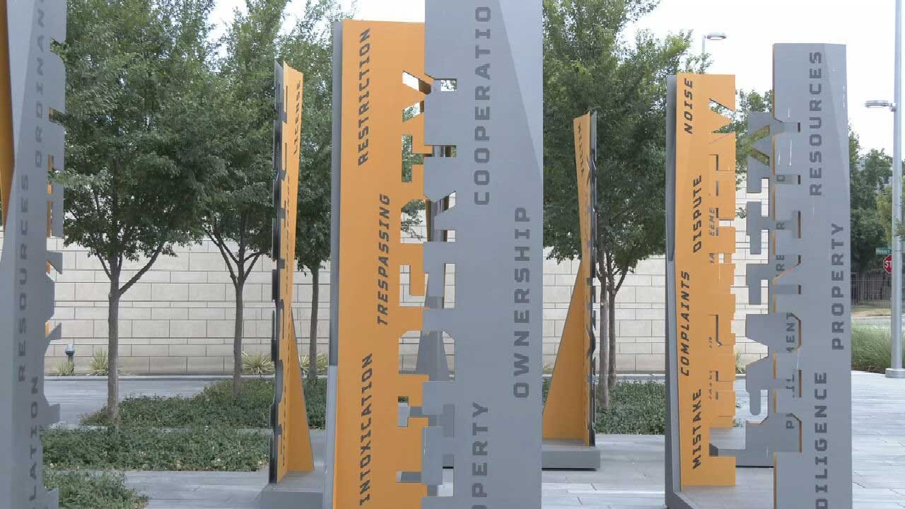 New Public Art Installation Outside OKC Municipal Court