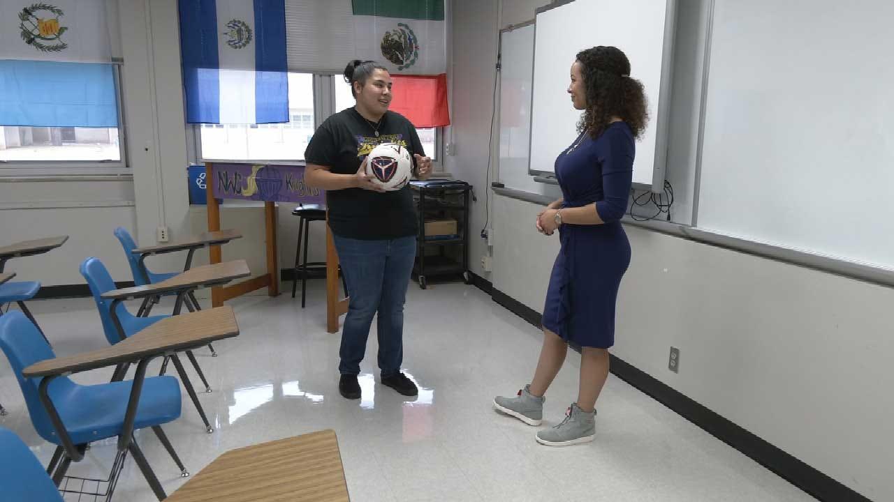NW Classen HS Alum Returns As Teacher, Coach To Give Back