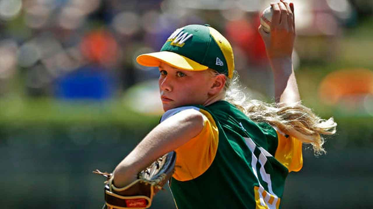 Maddy Freking Wows Fans As The Only Girl In 2019 Little League World Series