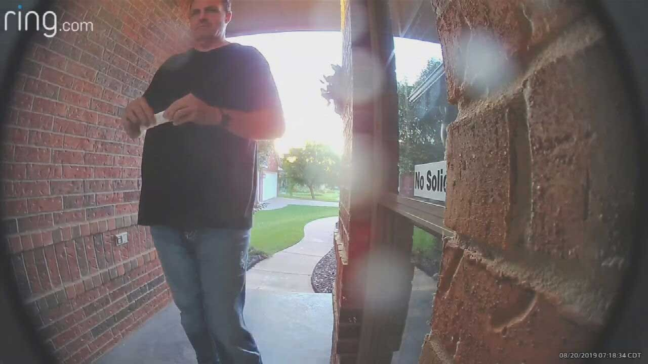 Man Accused Of Leaving Threatening Notes In OKC Area Detained