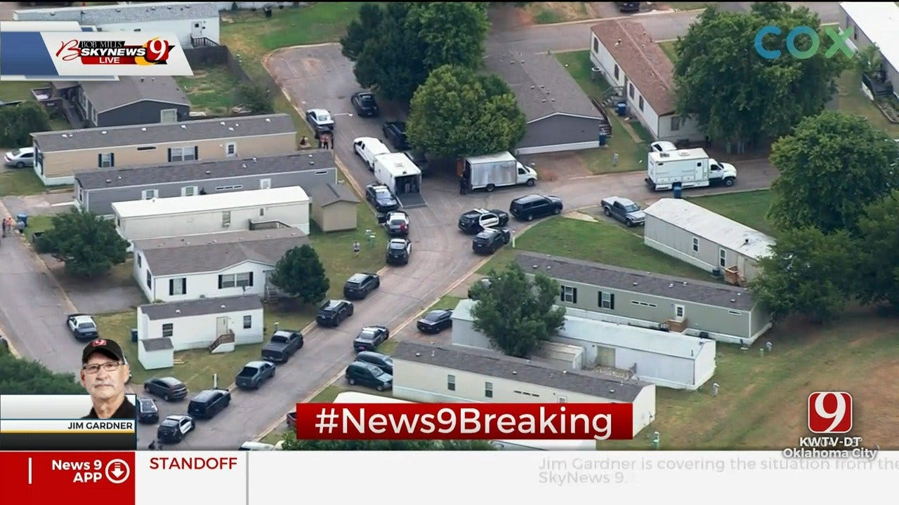 Man Taken Into Custody After Standoff In Norman