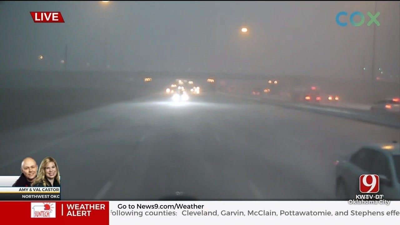 Severe Storms Drop Heavy Rain Over Oklahoma City Metro