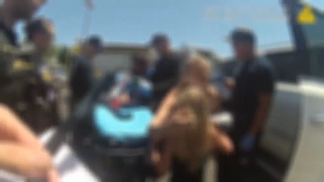 Video Shows Dramatic Rescue Of Infant Left In Hot Car: 'How Do You Forget Your Baby?'