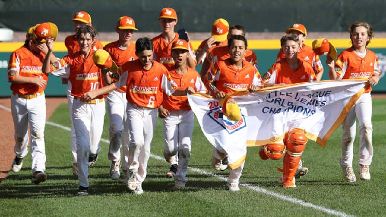 Louisiana Beats Curacao 8-0 To Win Little League World Series