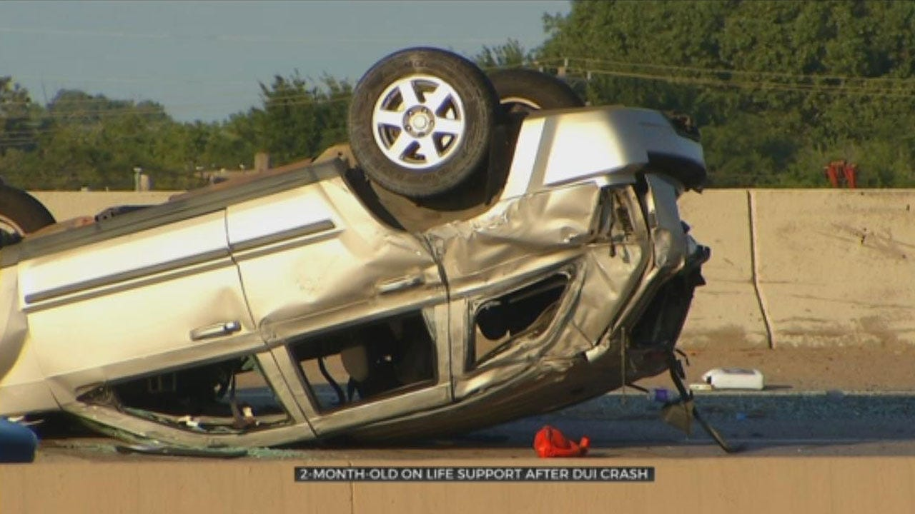 2 Injured After Suspected DUI Crash Near Downtown OKC