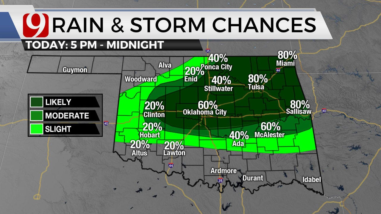 Okla. To See Extreme Temps, Possible Storms