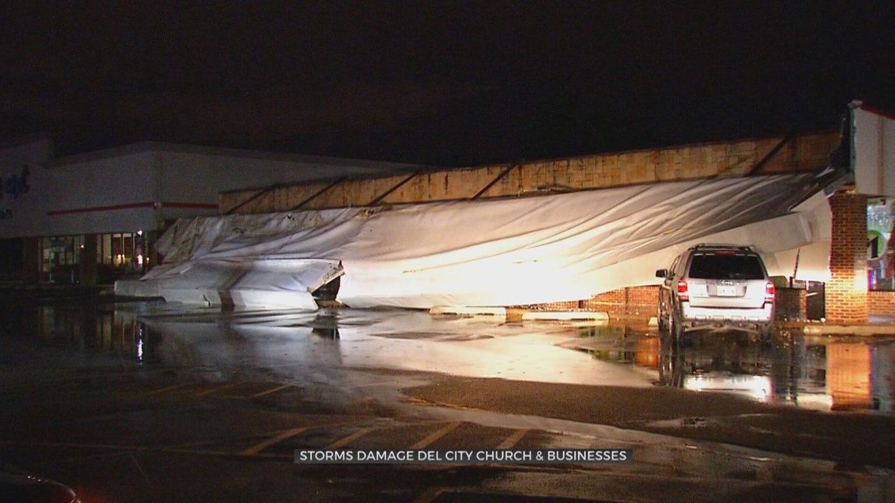 Del City Officials Assess Severe Weather Damage