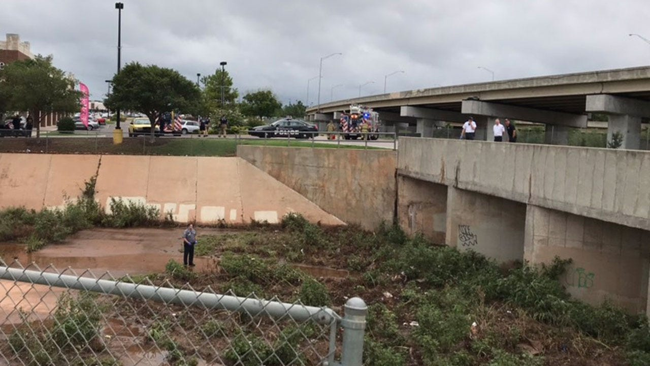 Emergency Crews Responding To Body Found Near NW OKC Shopping Center
