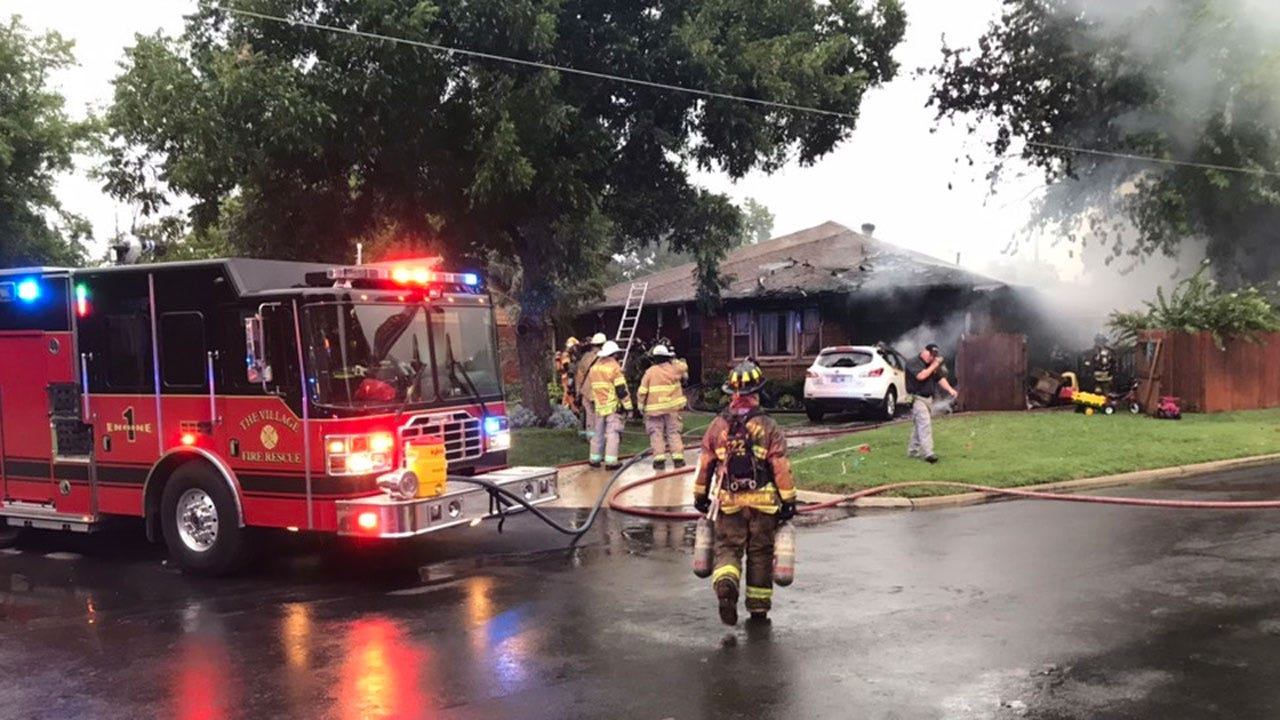 Firefighters Respond To Rekindled House Fire In The Village