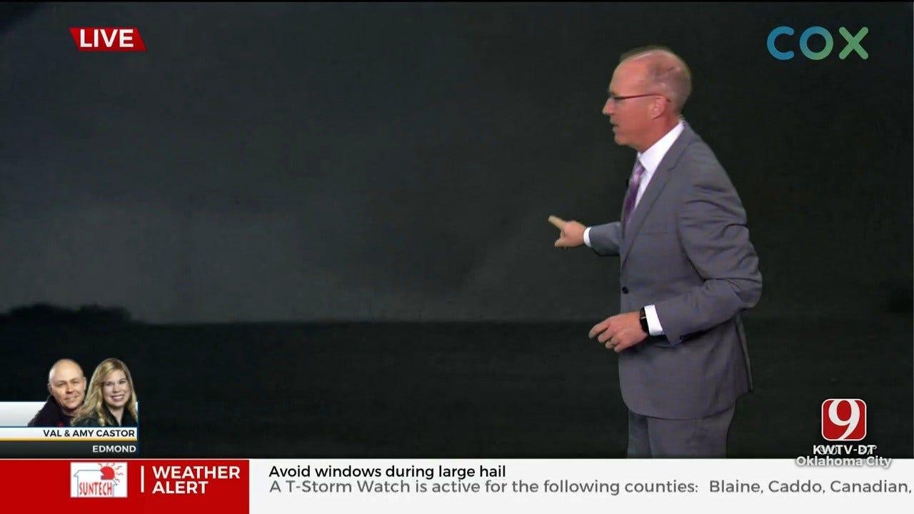NWS Rates North Edmond Tornado As An EF-1