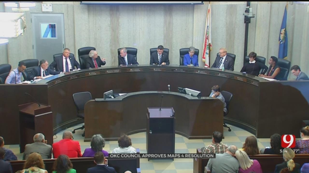 OKC City Council Approves MAPS 4 Resolution; Voting Set For December 2019