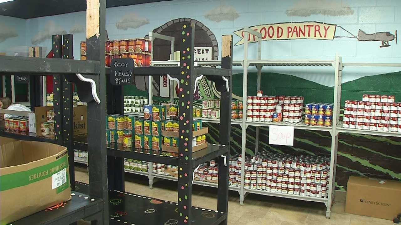 Food Pantry Fills Growing Need On OU Campus