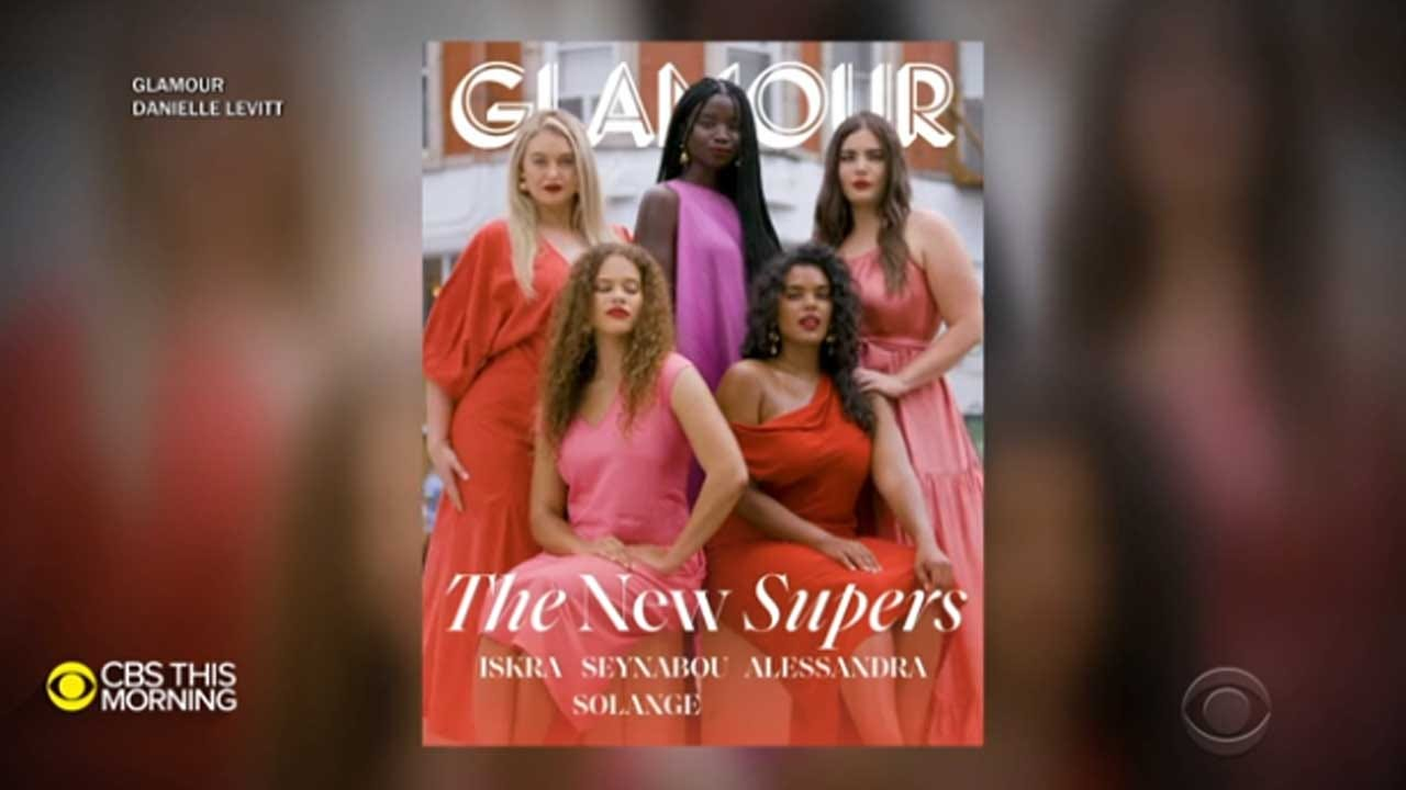 Glamour Introduces New Supermodels, All Size 12 And Above, In September Issue