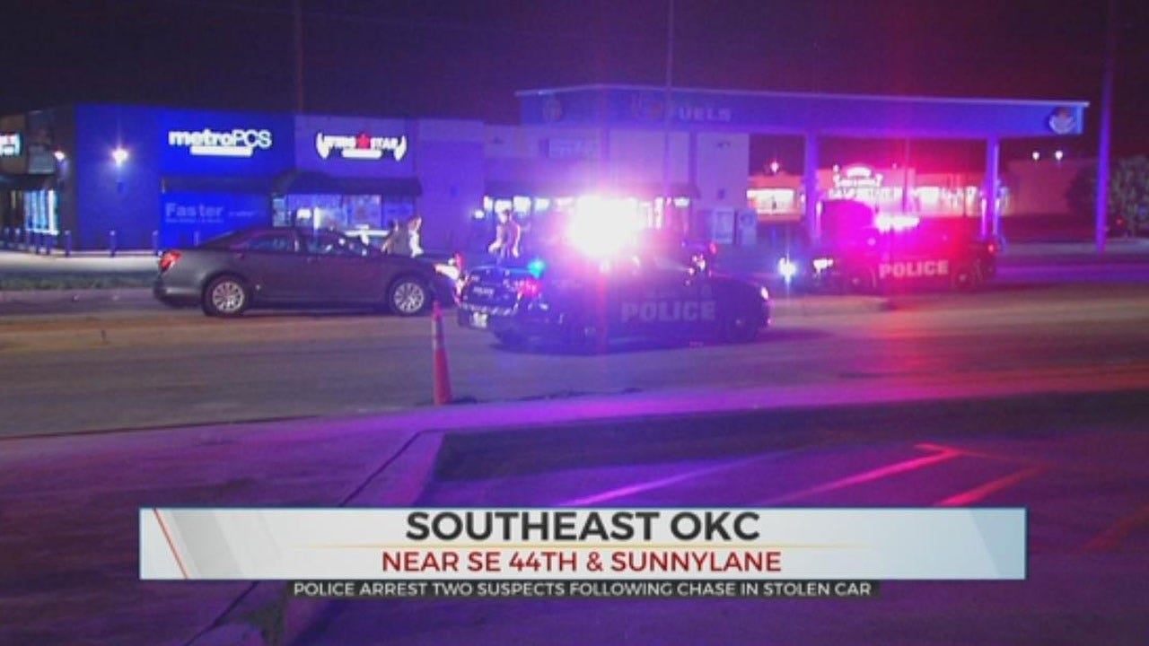 2 In Custody Accused Of Stealing Car, Leading Police On Overnight Chase