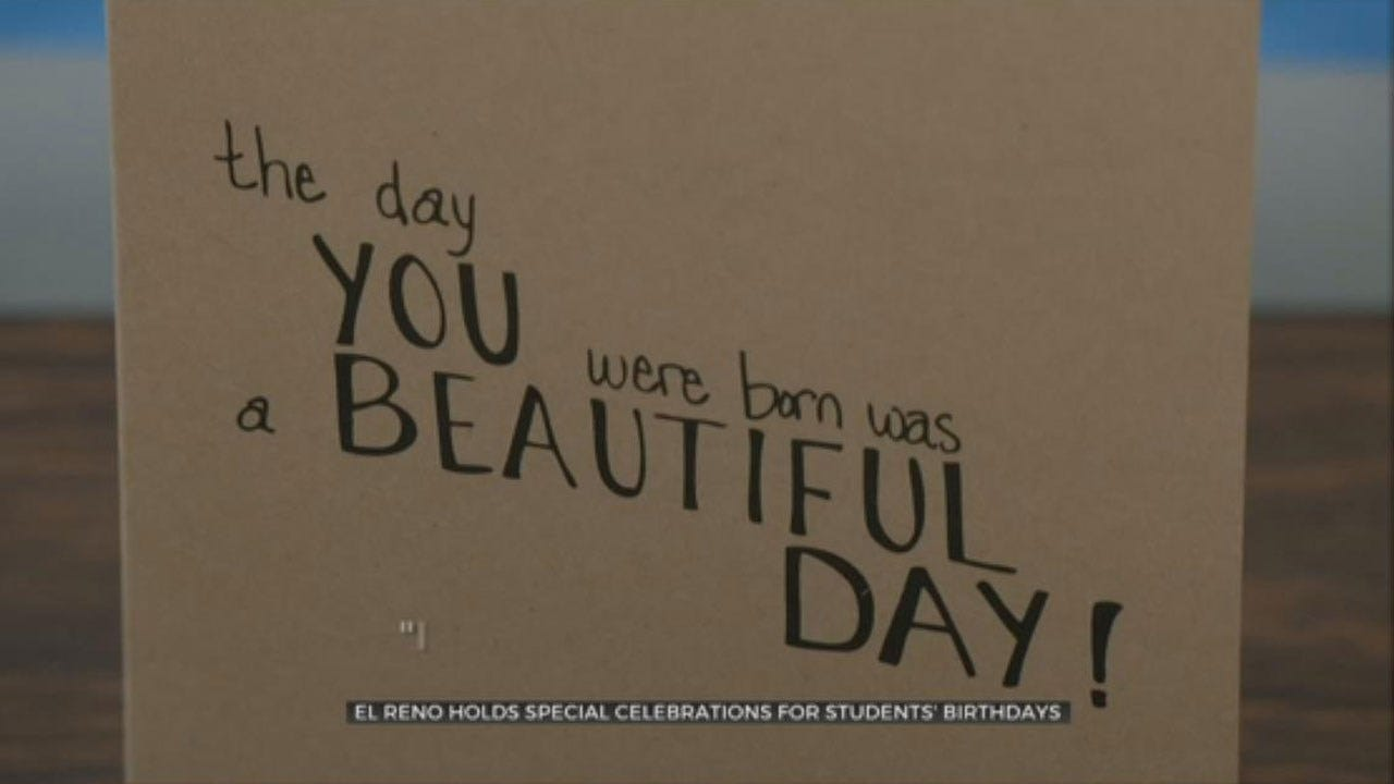 El Reno Holds Special Celebrations For Student's Birthdays