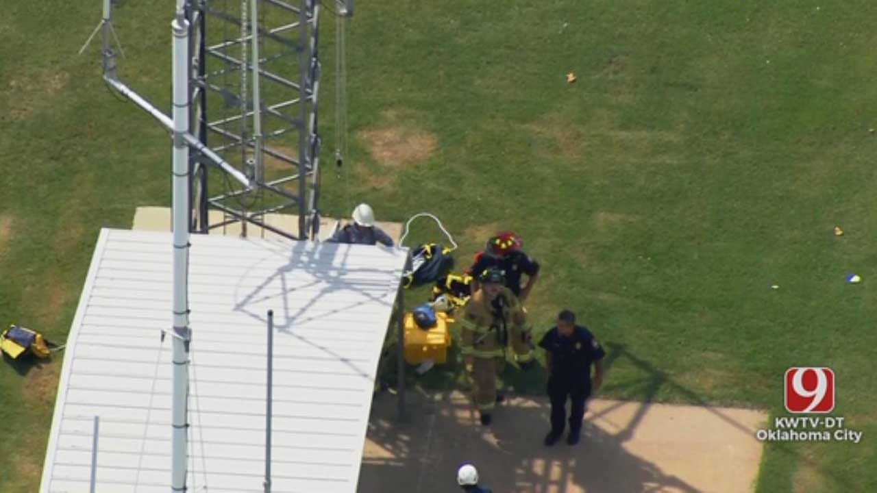 Man Rescued From Tower In SW OKC