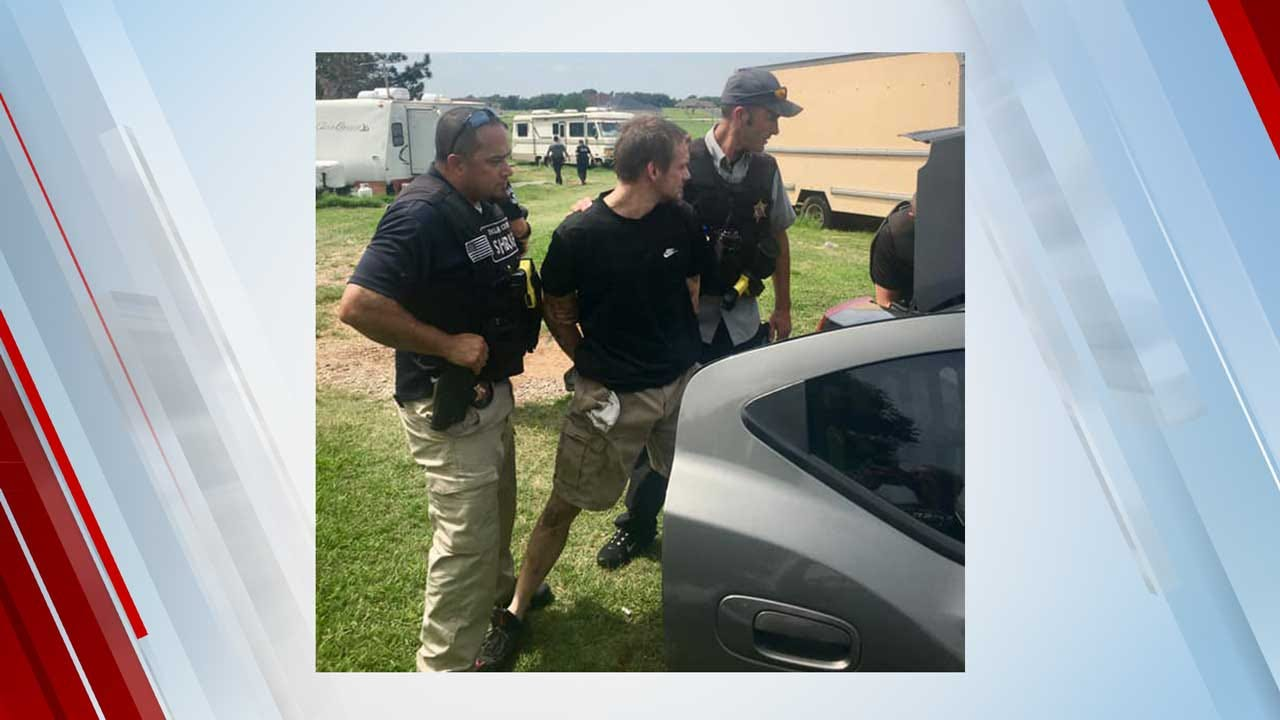 Oklahoma Man Wanted In 2 Counties Captured Following Standoff