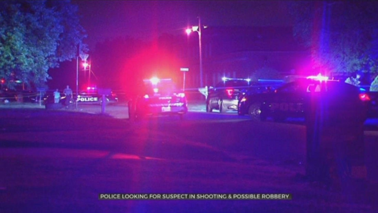 Police Search For Suspect In SW OKC Shooting, Possible Robbery