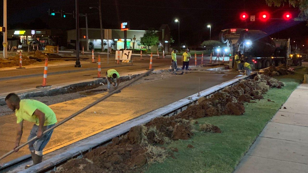 Edmond Construction Near High School To Impact Back-To-School Traffic