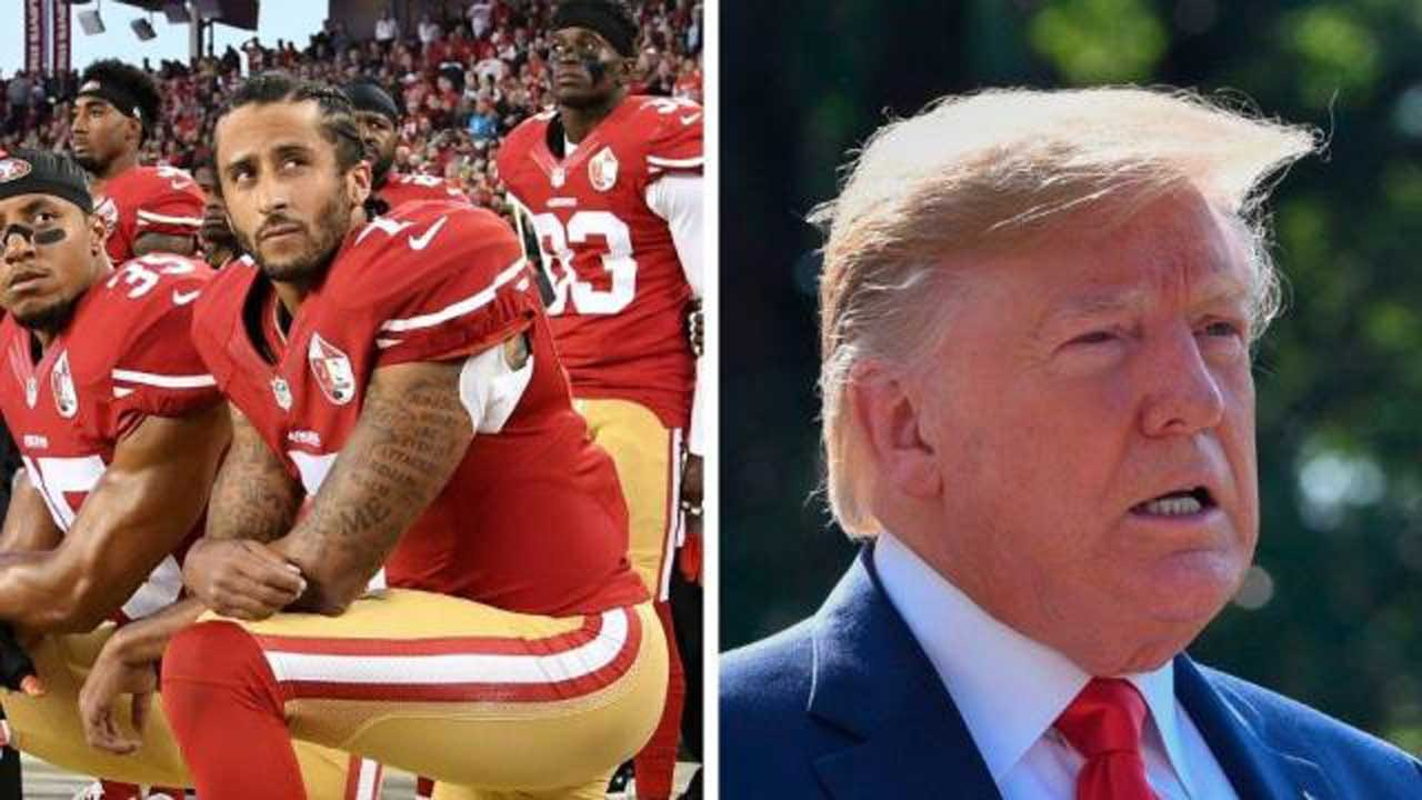 President Trump Says Colin Kaepernick Should Play In The NFL Again 'If He's Good Enough'