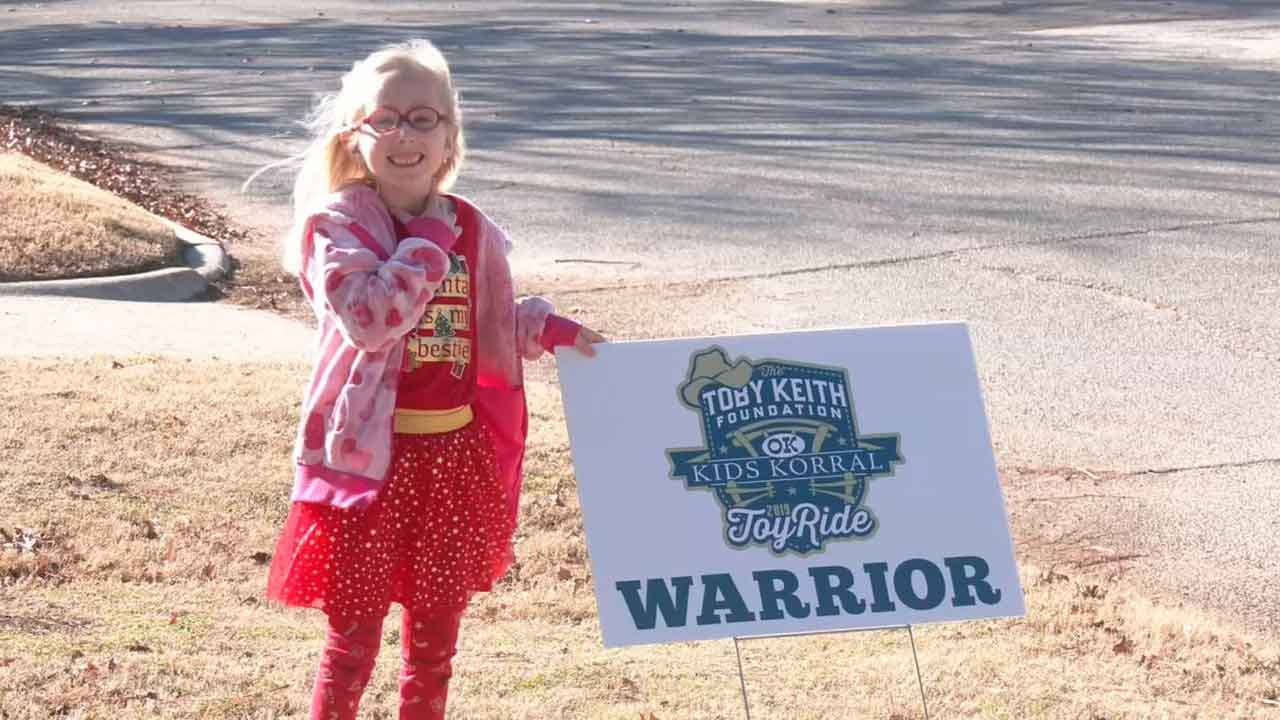 Local Bikers Help Bring Christmas To Children Battling Cancer