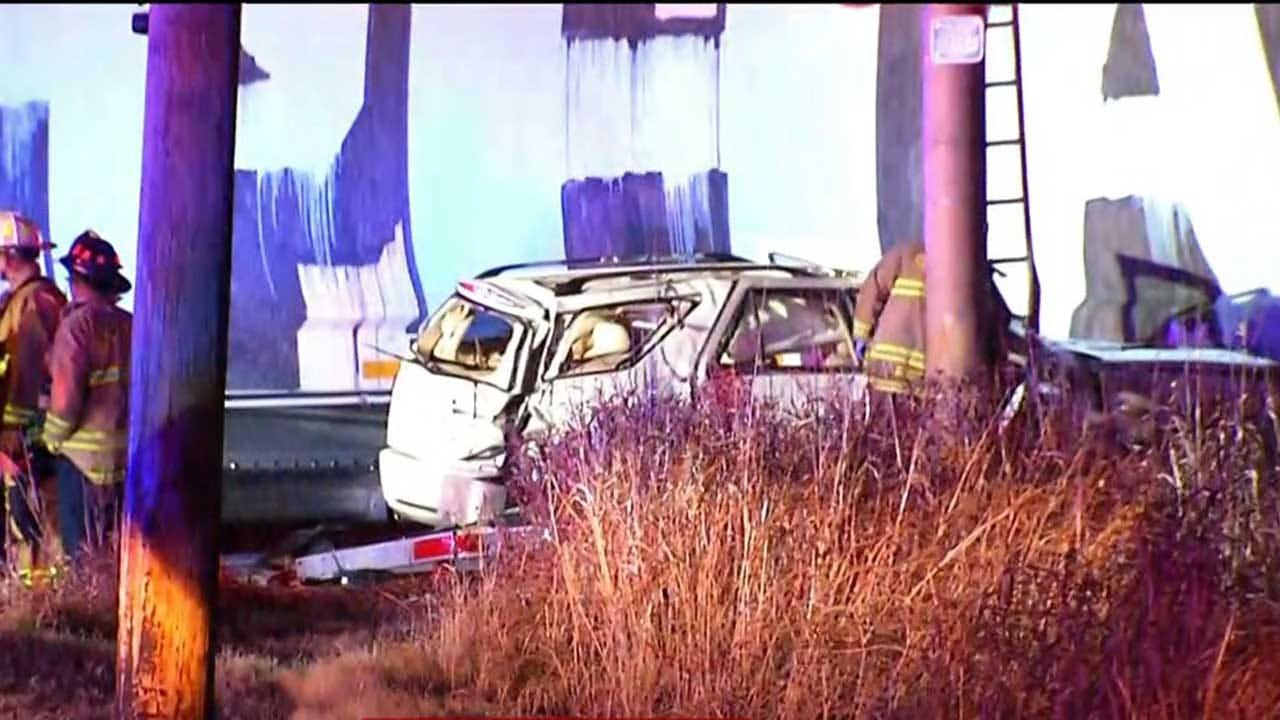 1 Critically Injured After Car Struck By Train In NE OKC