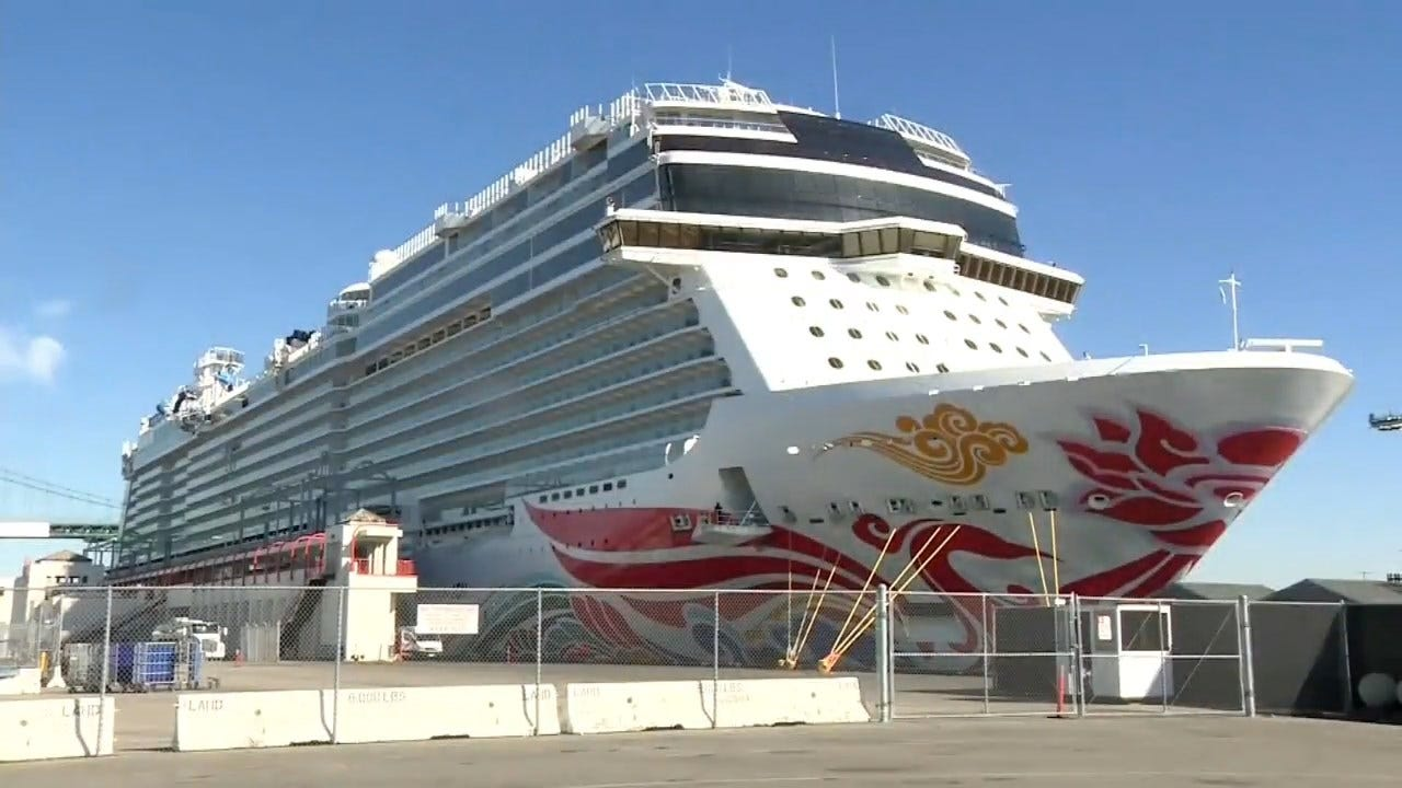Oakland To Consider Housing 1,000 Homeless People On A Cruise Ship