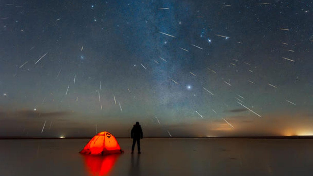 One Of The Year's Best Meteor Showers Peaks This Weekend
