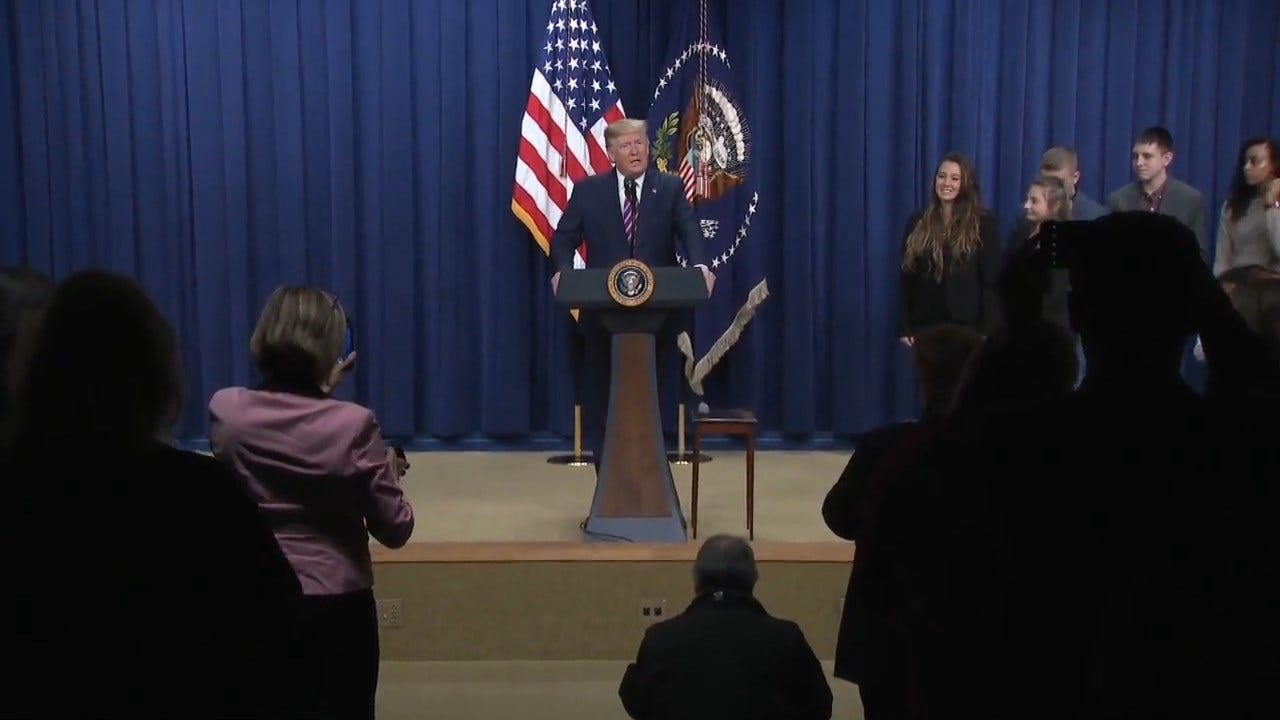 President Trump Pushes Paid Leave At White House Summit