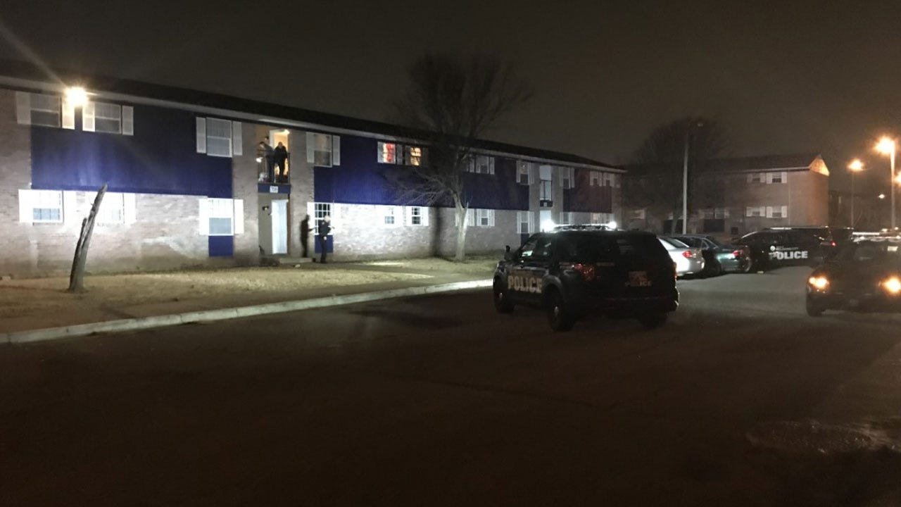 1 Injured In Drive-By Shooting At NE OKC Apartment Complex