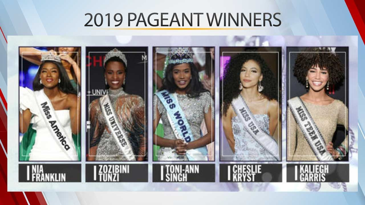 Historic Win: 5 Black Women Now Hold The Top Pageant Crowns